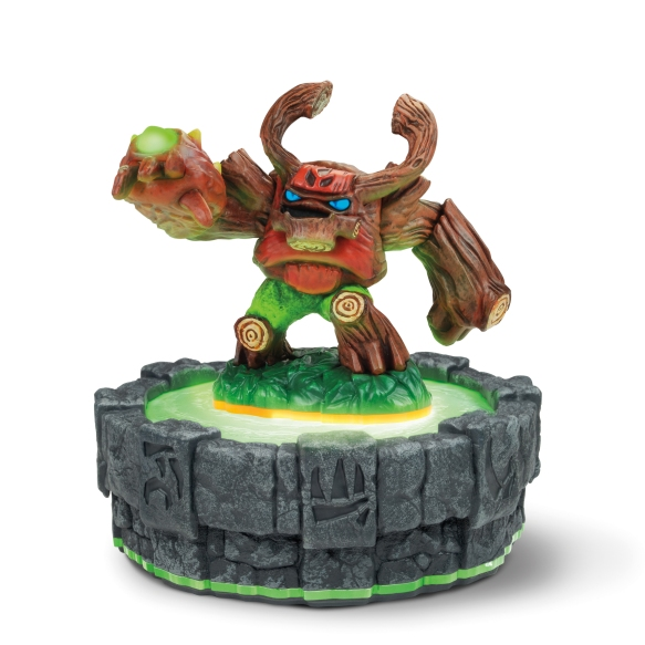 Skylanders Giants: Tree Rex toy on portal
