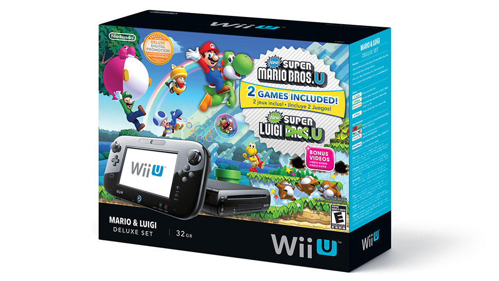 Nintendo: Wii U Bundle - New Super Mario Bros U & New Super Luigi U