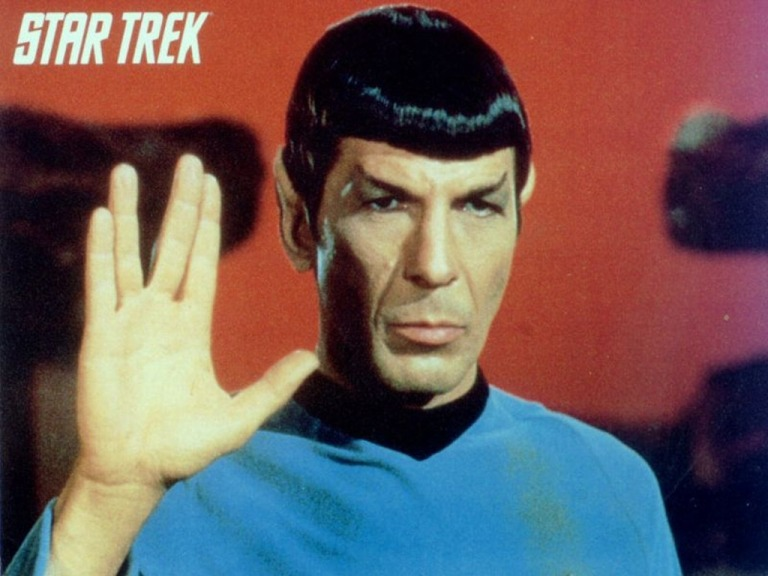 Leonard Nimoy as Spock on Star Trek