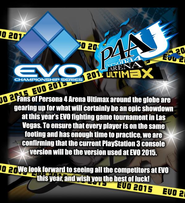 Persona 4 Arena Ultimax - EVO 2015