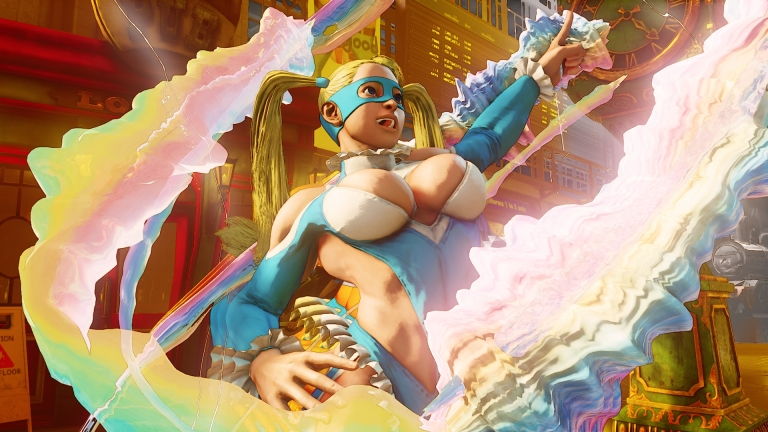 R. Mika returns in Street Fighter V | R. Mika vuelve en Street Fighter V